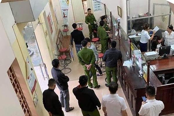 Đối tượng cướp Ngân hàng Agribank ở Hòa Bình để lấy tiền trả nợ đã bị bắt
