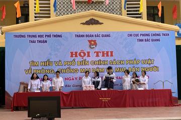 Bắc Giang: Mỗi thanh niên là một tuyên truyền viên tích cực, đẩy lùi tội phạm mua bán người