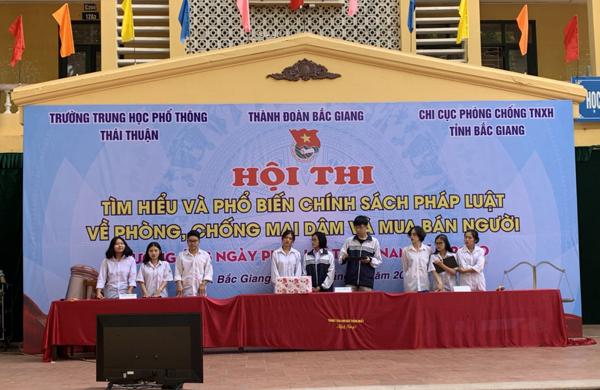 tuyên truyền,phòng chống buôn bán người,mua bán người,Bắc Giang