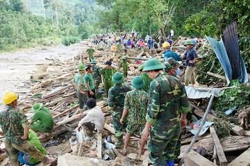 Quảng Nam: Tìm thấy thi thể thứ 9 bị vùi lấp ở Trà Leng
