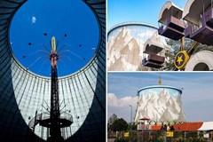 Công viên giải trí bên trong nhà máy điện hạt nhân cũ