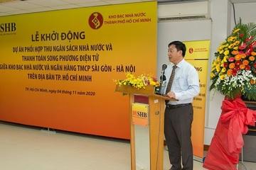 TP.HCM: Ngân hàng phối hợp Kho bạc Nhà nước thu ngân sách và thanh toán song phương điện tử