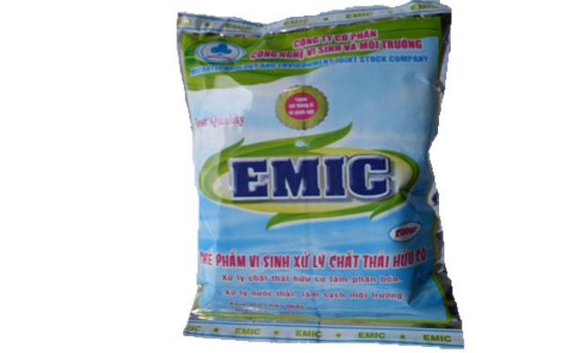 Hỗ trợ hoàn thiện công nghệ sản xuất và thương mại hoá chế phẩm EMIC