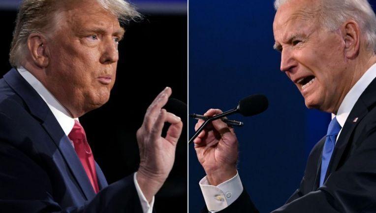 Ông Biden sát gần chiến thắng, ông Trump đi kiện