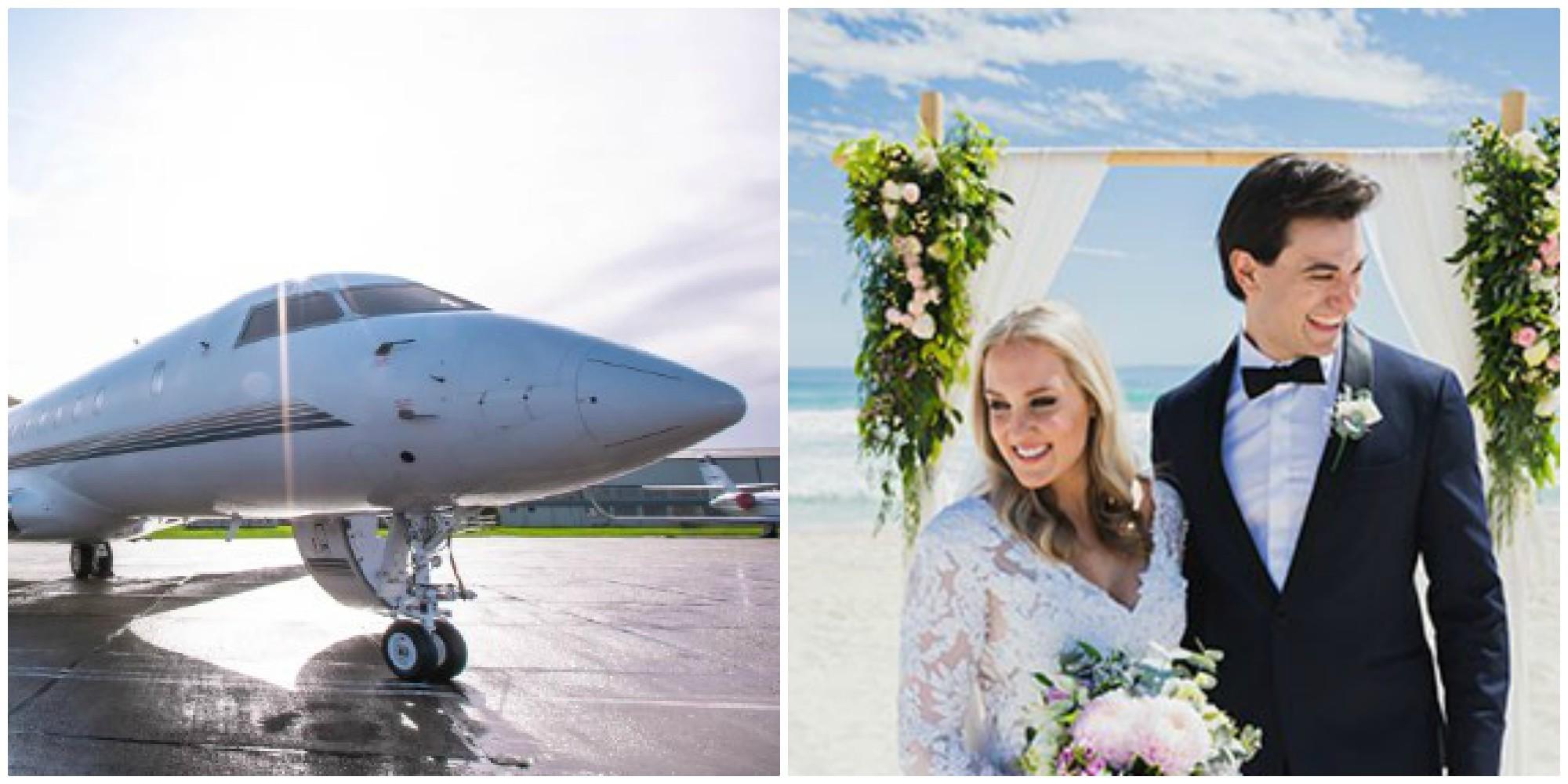 Điều gì đặc biệt ở 'đám cưới giữa bầu trời' trị giá 28 nghìn USD