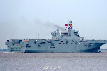 Chiến hạm 'khủng' của Trung Quốc xuất hiện ở cửa ngõ Biển Đông