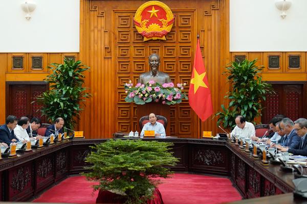 Thủ tướng Nguyễn Xuân Phúc chủ trì họp chuẩn bị HNCC ASEAN lần thứ 37