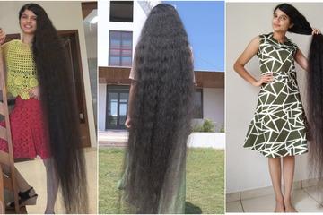 Thiếu niên Ấn Độ lập kỷ lục thế giới về mái tóc dài nhất