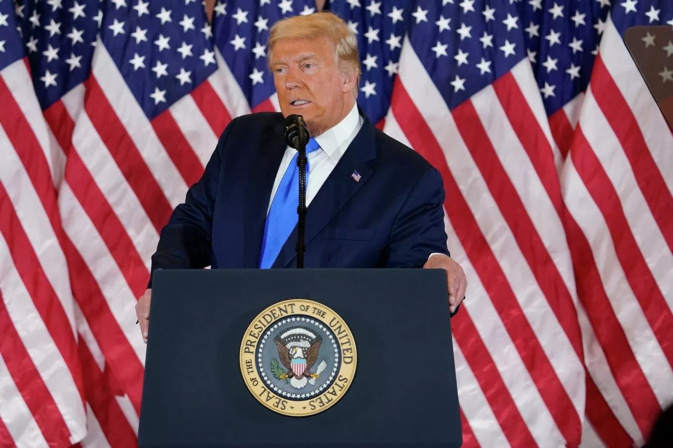 Ông Trump kêu gọi Tòa án Tối cao quyết định kết quả bầu cử tổng thống