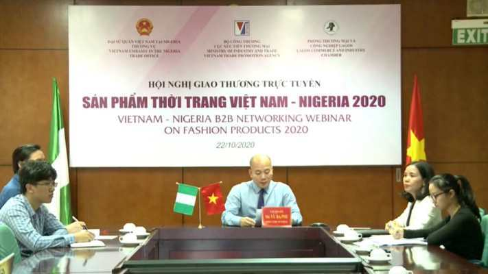 Nhiều nhà nhập khẩu Nigeria quan tâm sản phẩm thời trang Việt Nam