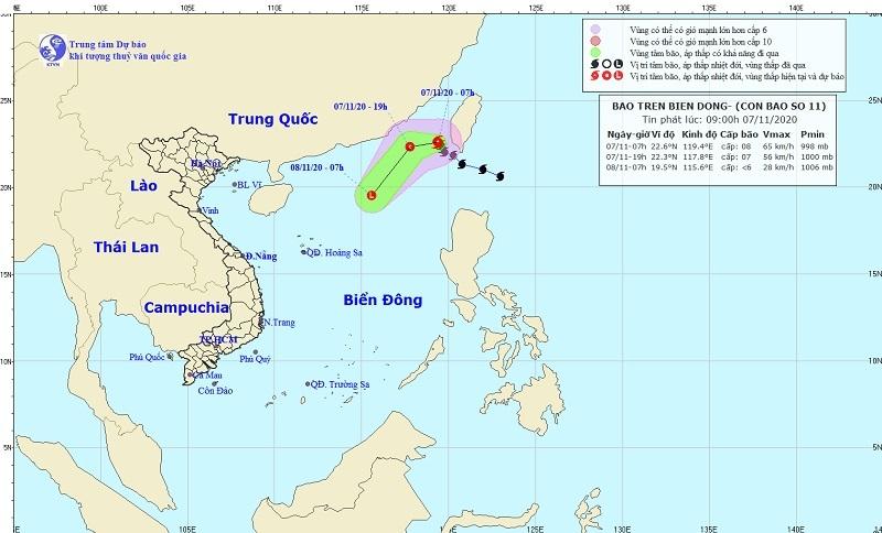 Miền Bắc lạnh, bão Atsani gió giật cấp 11 tiến vào Biển Đông
