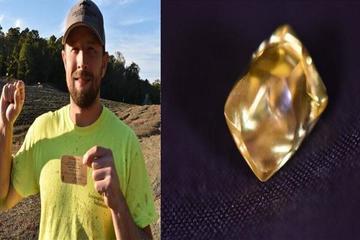 Đi chơi công viên nhặt được viên kim cương quý