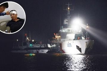 Tàu hàng từ Quảng Ninh chìm trên vùng biển Quảng Nam, tìm kiếm thuyền trưởng