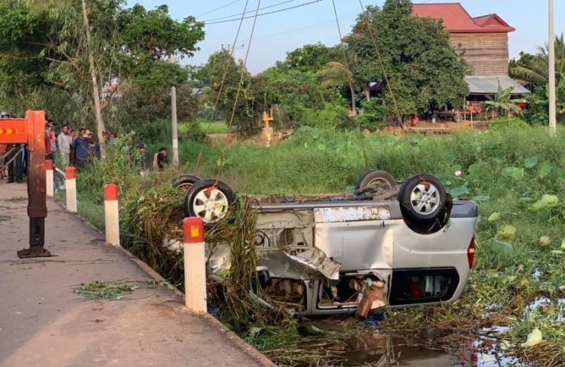 Tai nạn thảm khốc khiến 5 người Hà Tĩnh tử vong tại Campuchia, có 3 người là mẹ con