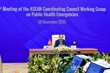 Họp Nhóm Công tác liên ngành Hội đồng điều phối ASEAN về ứng phó tình huống y tế công cộng khẩn cấp