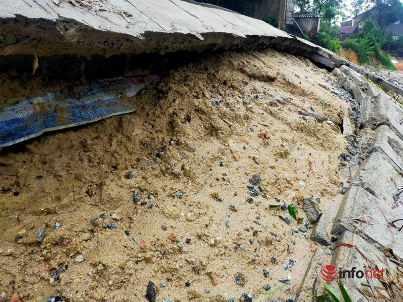Hà Tĩnh: Kè chống sạt lở chưa xong đã thành đống đổ nát, nhà dân sụt lún không thể chờ