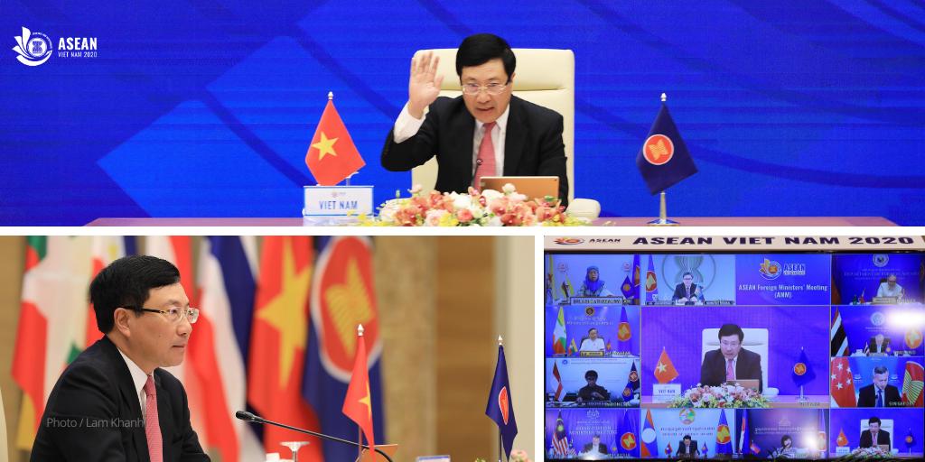 Hội nghị Bộ trưởng Ngoại giao ASEAN,ASEAN 2020,năm asean Việt Nam 2020