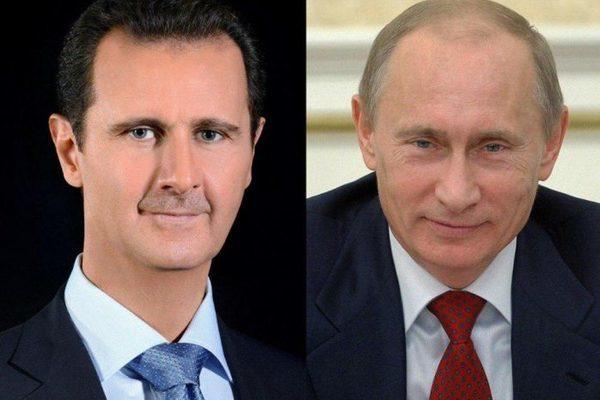 Tình hình Syria: Cuộc họp đặc biệt đầu tiên của Tổng thống Putin - Assad
