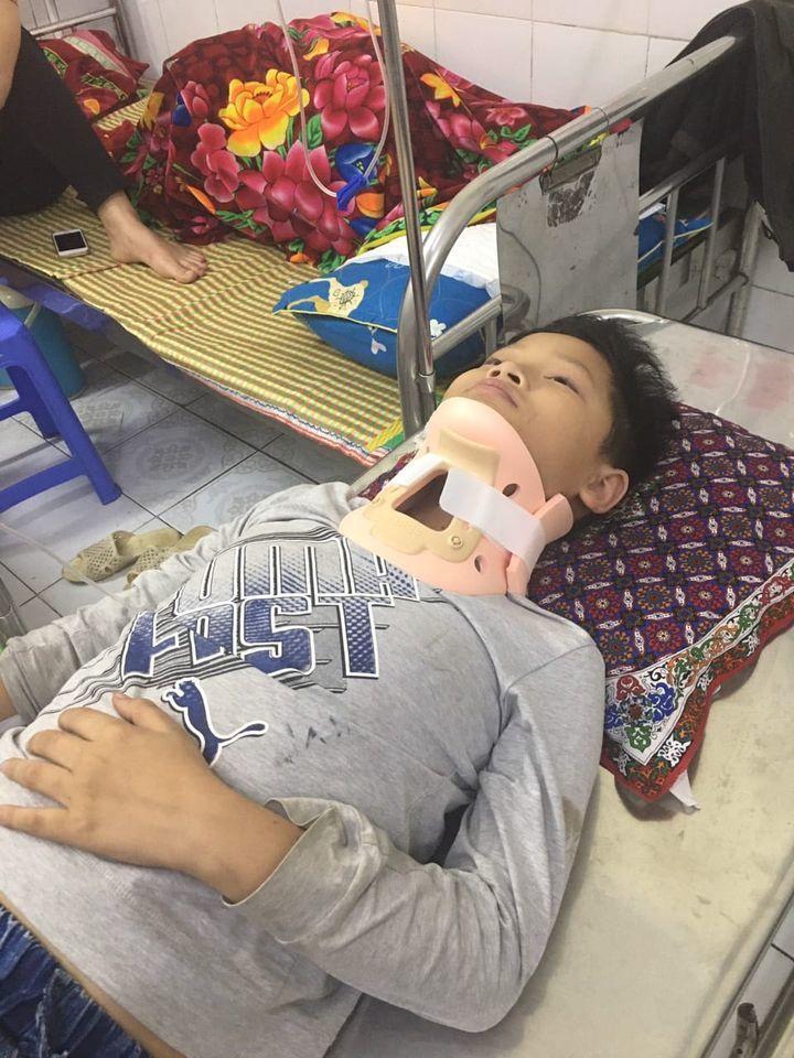 Hưng Yên: Học sinh tiểu học bị đánh chấn thương đốt sống cổ