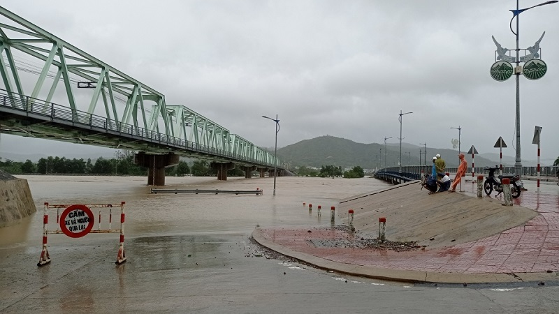 1 người mất tích ở Phú Yên sau bão số 12