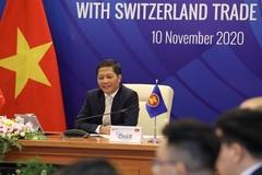 Đối thoại trực tuyến về hợp tác kinh tế ASEAN - Thụy Sỹ