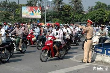 Ngày mai (12/11), Hà Nội cấm và hạn chế phương tiện qua các tuyến đường nào?