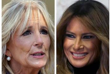Phu nhân của Tổng thống Trump chưa nói chuyện với vợ ông Biden