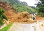 Quảng Nam: Sạt lở núi kinh hoàng, một người mất tích