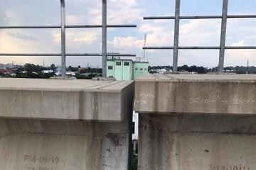 Xác định nguyên nhânrơi gối dầm trên cao tuyến metro Bến Thành - Suối Tiên