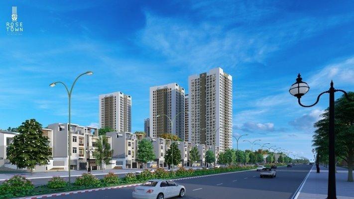 Rose Town chuẩn bị bàn giao những căn hộ đầu tiên vào cuối tháng 11/2020