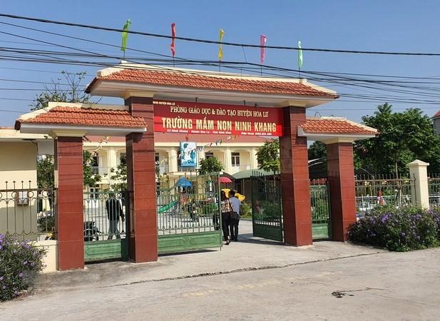 Ninh Bình,bạo hành trẻ,đánh học sinh