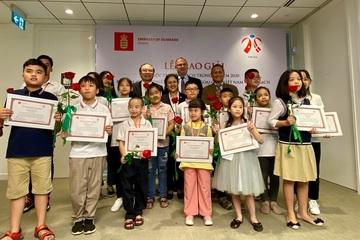 """21 học sinh Việt Nam đoạt giải cuộc thi vẽ """"Đan Mạch trong mắt em 2020"""""""