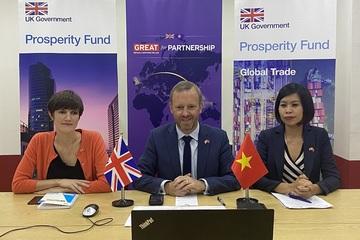 Vương quốc Anh và Việt Nam ký Ý định thư xây dựng Kho dữ liệu Thương mại Việt Nam