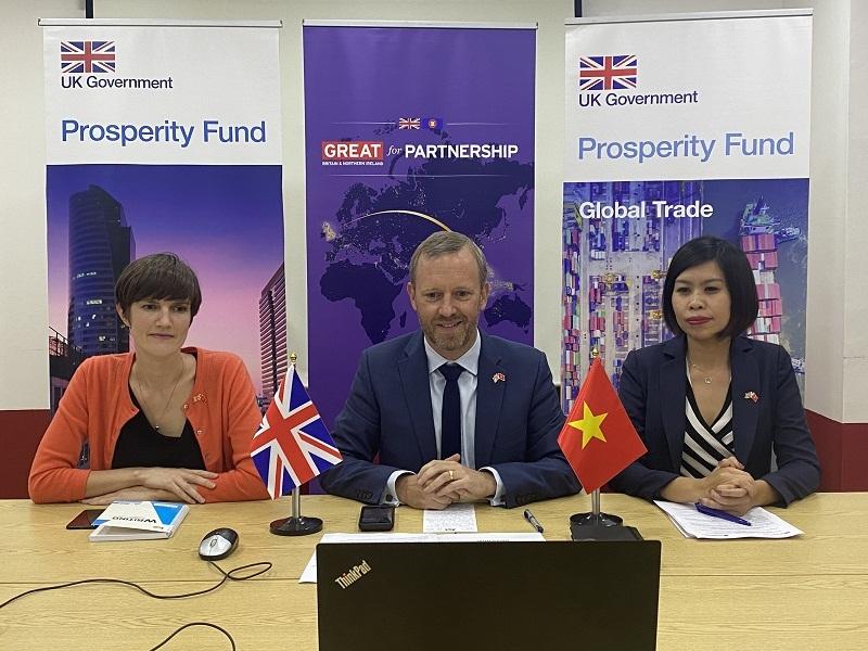 Kho dữ liệu thương mại Việt Nam,Vương quốc Anh,Quỹ thịnh vượng Anh