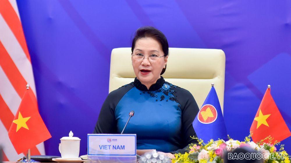 Chủ tịch Quốc hội Nguyễn Thị Kim Ngân dự Hội nghị Thượng đỉnh Lãnh đạo nữ ASEAN