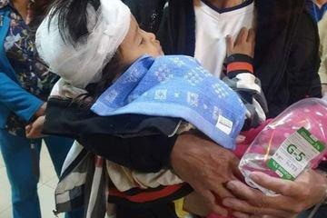 Bố chồng đánh con dâu và 2 cháu nội nhập viện: Con dâu đang mang thai, cháu 4 tuổi vỡ hộp sọ, tiên lượng xấu