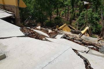 Kè chắn đất, tường rào đổ sập, Đắk Nông phạt 3 doanh nghiệp hơn 130 triệu đồng