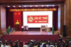 Nông dân Bắc Ninh tham gia phòng chống thuốc lá