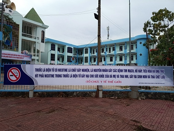 Cà Mau: Xây dựng bệnh viện không thuốc lá