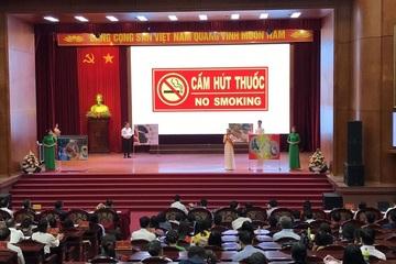 """Hội thi """"Nông dân với công tác phòng, chống tác hại của thuốc lá"""""""