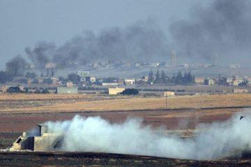 Tình hình Syria: Thổ Nhĩ Kỳ bắn phá vùng biên Syria