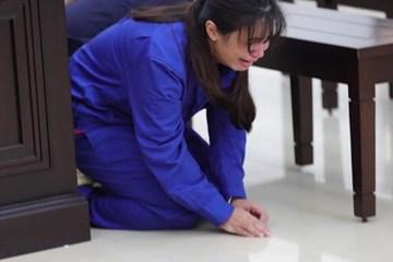 Xét xử vụ bạo hành con ruột 3 tuổi đến chết: Bị cáo khóc lóc, quỳ xin lỗi mẹ