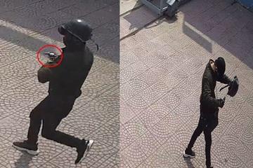 Công an thông báo truy tìm kẻ cướp ngân hàng ở Bình Dương