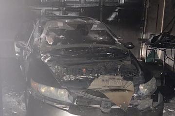 Bé gái 12 tuổi dũng cảm cứu bé trai thoát khỏi ô tô bốc cháy