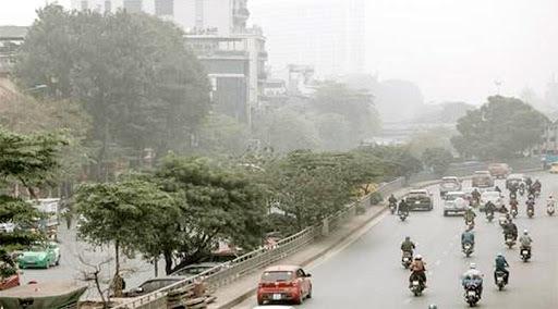 Mưa phùn, sương mù bao trùm khắp Bắc Bộ và Bắc Trung Bộ