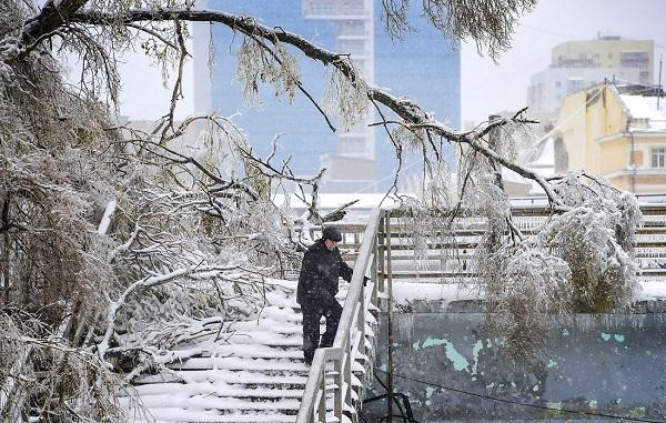 Nga,Vladivostok,mưa băng,Viễn Đông