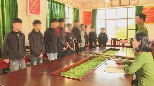 Triệu tập 13 thiếu niên dùng hung khí hỗn chiến tại trung tâm Buôn Ma Thuột