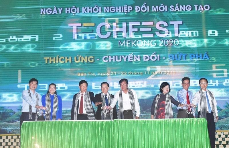 Khai mạc Techfest Mekong 2020 tại Bến Tre