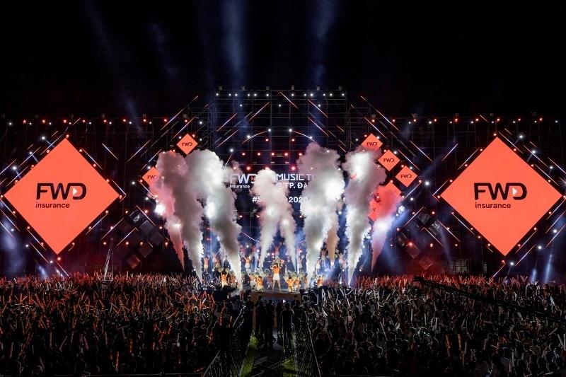 Toàn cảnh đêm nhạc đỉnh cao của Vbiz tại Đà Nẵng