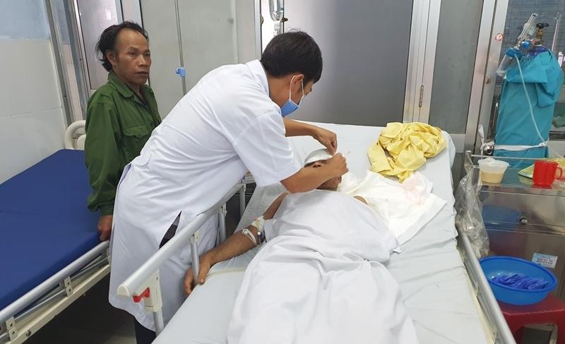Bệnh nhân bị gấu vồ ở Quảng Nam đã qua cơn nguy kịch